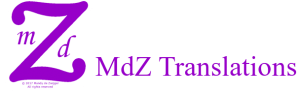 Logo van MdZ Translations